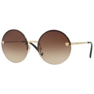 Versace Round Style Brown Lens.